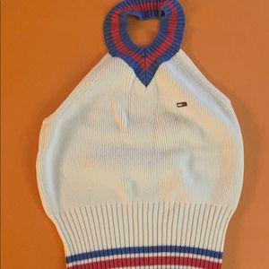 Tommy Hilfiger knit halter top